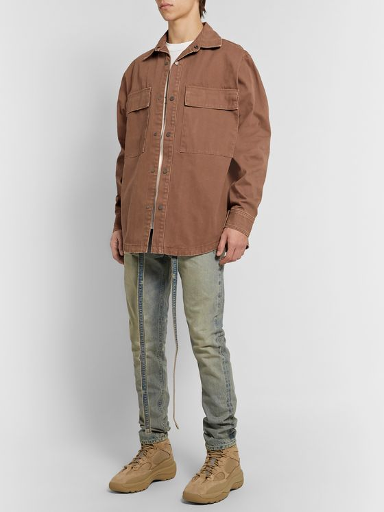 Fear of God Cotton-Canvas Shirt Jacket