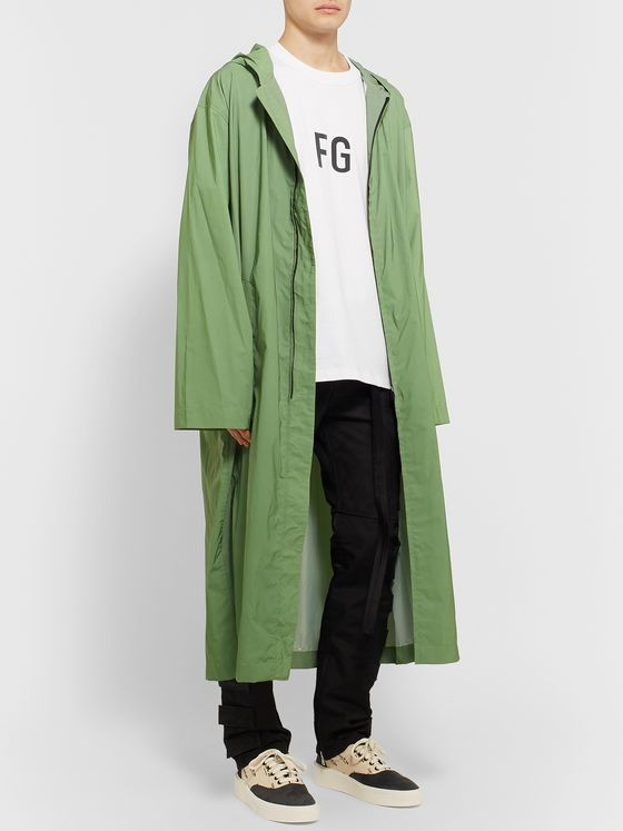 Fear of God Reflective Nylon Hooded Raincoat
