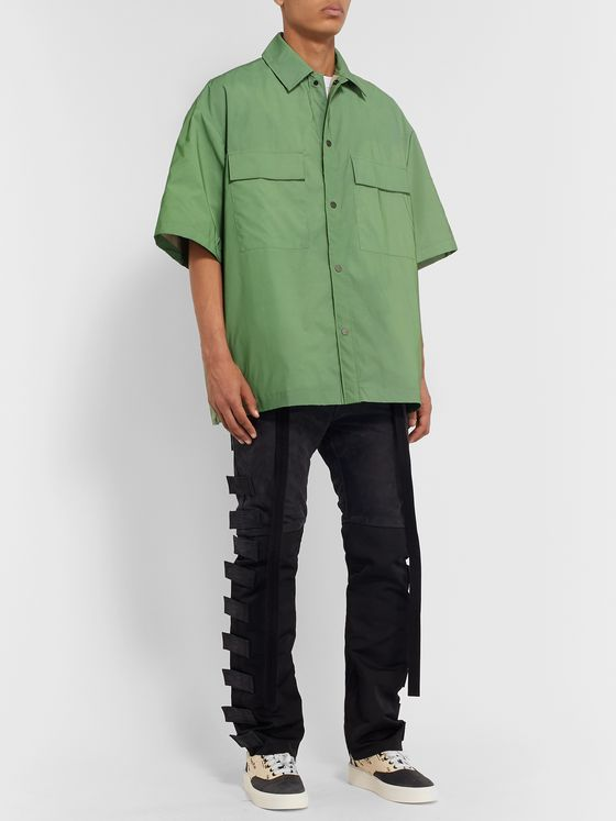 Fear of God Iridescent Nylon Overshirt