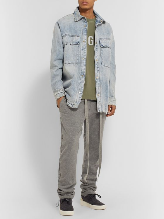 Fear of God Oversized Layered Denim Shirt