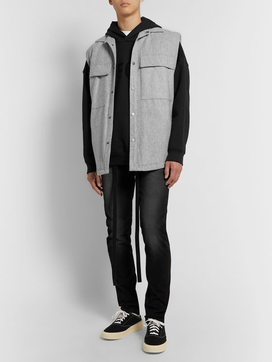 Fear of God Mélange Wool-Blend Gilet