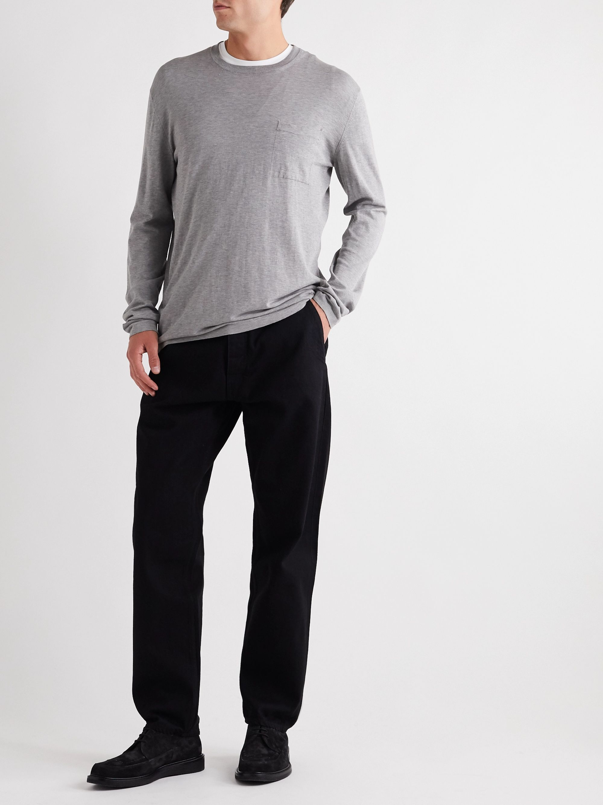 Mr P. Tapered Selvedge Denim Jeans