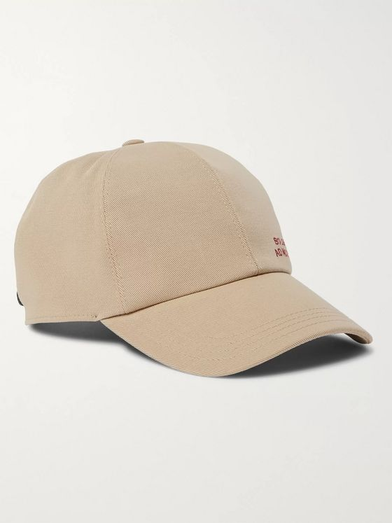 Brunello Cucinelli Embroidered Cotton-Blend Twill Baseball Cap
