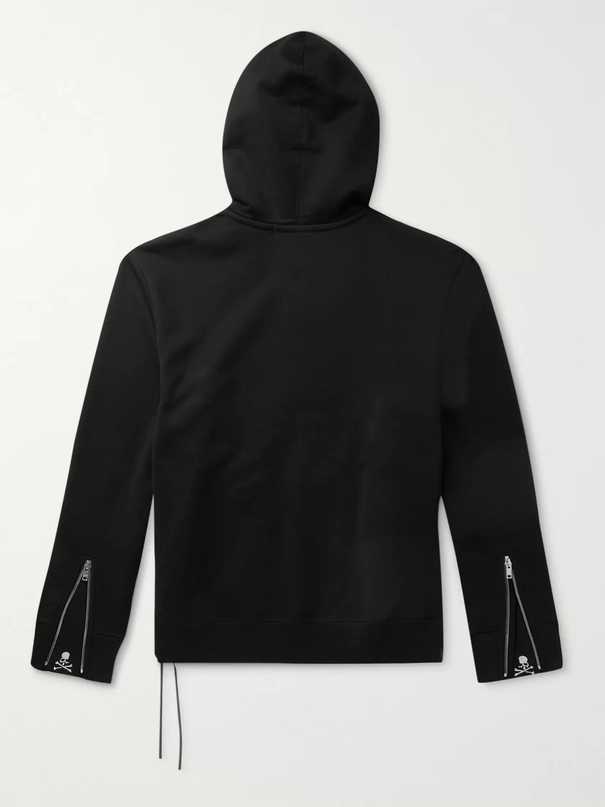 MASTERMIND WORLD Crystal-Embellished Cotton-Jersey Zip-Up Hoodie