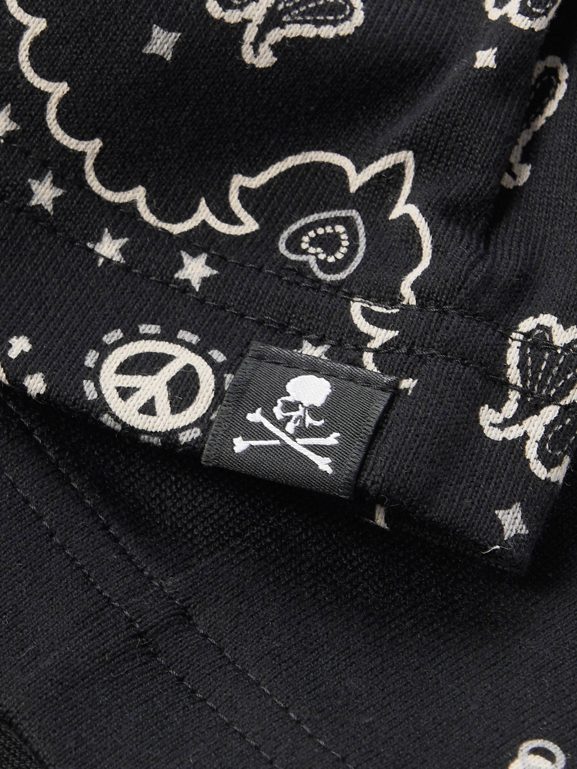 MASTERMIND WORLD Bandana-Print Cotton-Jersey T-Shirt