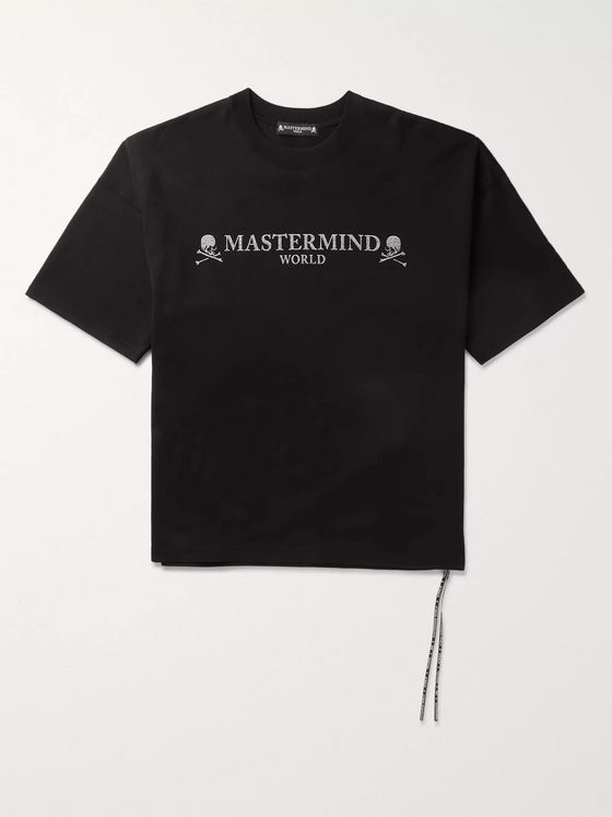 MASTERMIND WORLD Logo-Print Cotton-Jersey T-Shirt