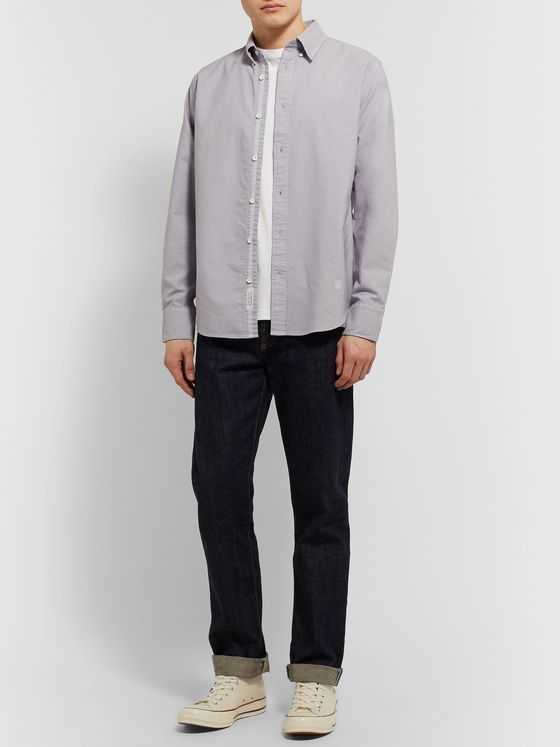 rag & bone Tomlin Fit 2 Button-Down Collar Cotton Oxford Shirt