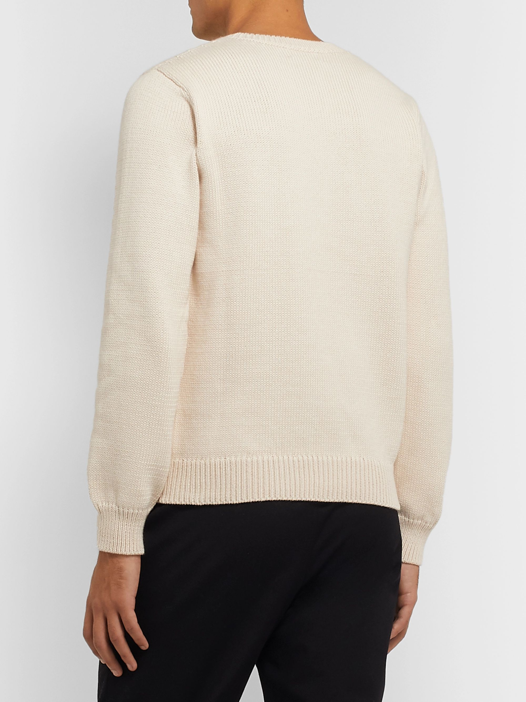 A.P.C. Auguste Pima Cotton Sweater
