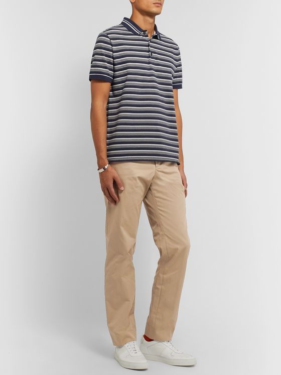 A.P.C. Barnabe Cotton-Blend Gabardine Chinos