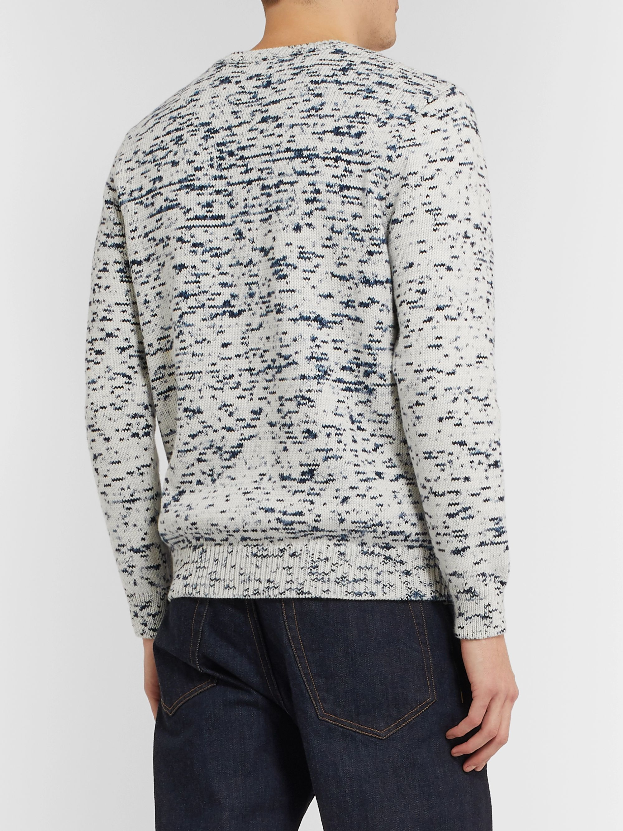 A.P.C. Tino Astro-Dyed Cotton Sweater