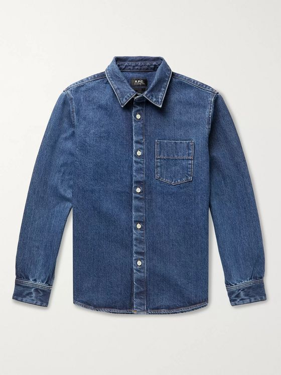 A.P.C. Victor Denim Shirt