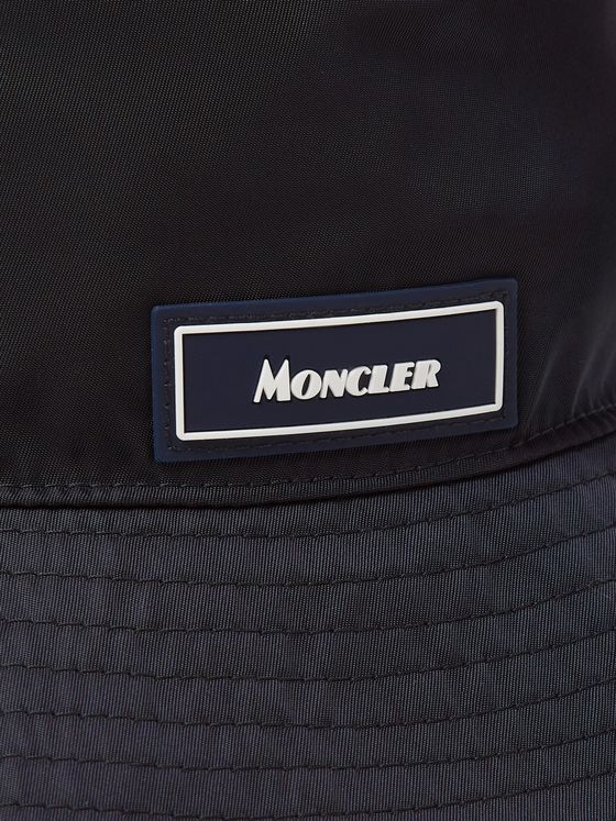 Moncler Logo-Appliquéd Nylon Bucket Hat