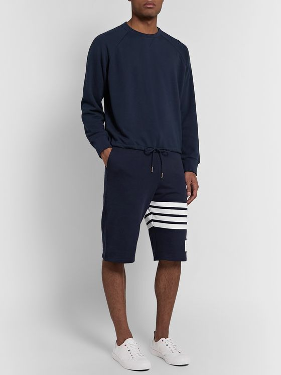 Thom Browne Loopback Cotton-Jersey Sweatshirt