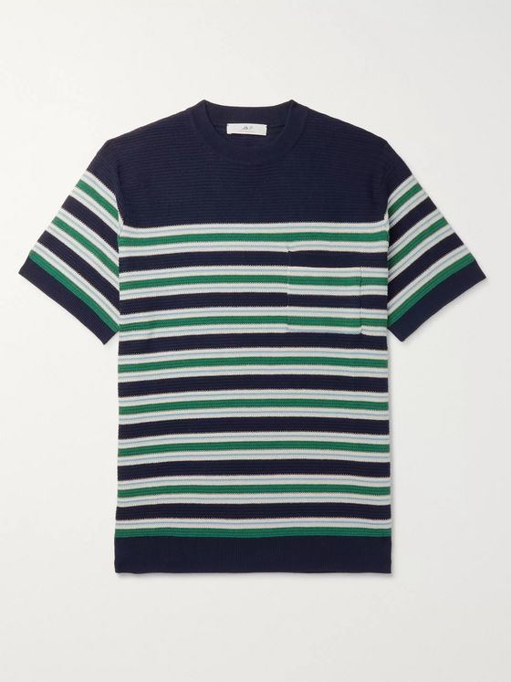 Mr P. Striped Cotton Sweater