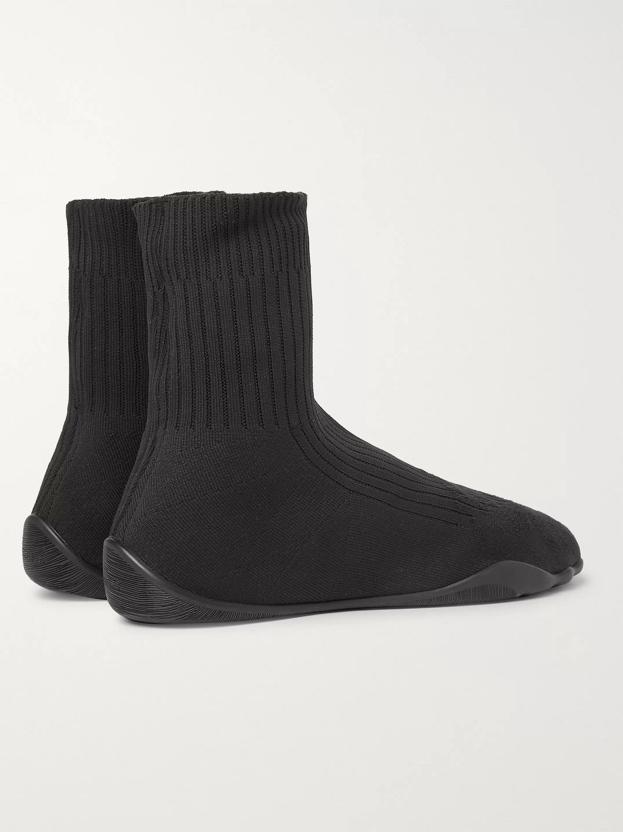 Vetements Karate Stretch-Knit Slip-On Sneakers