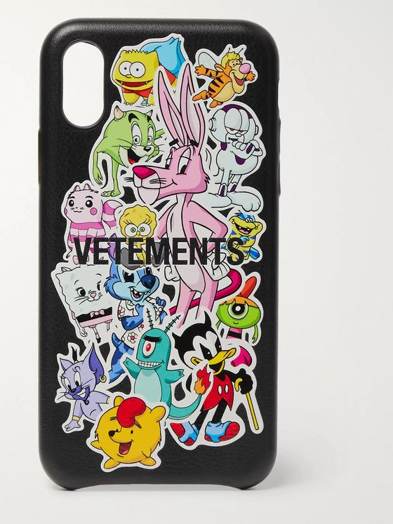 Vetements Monsters Printed iPhone XS Case