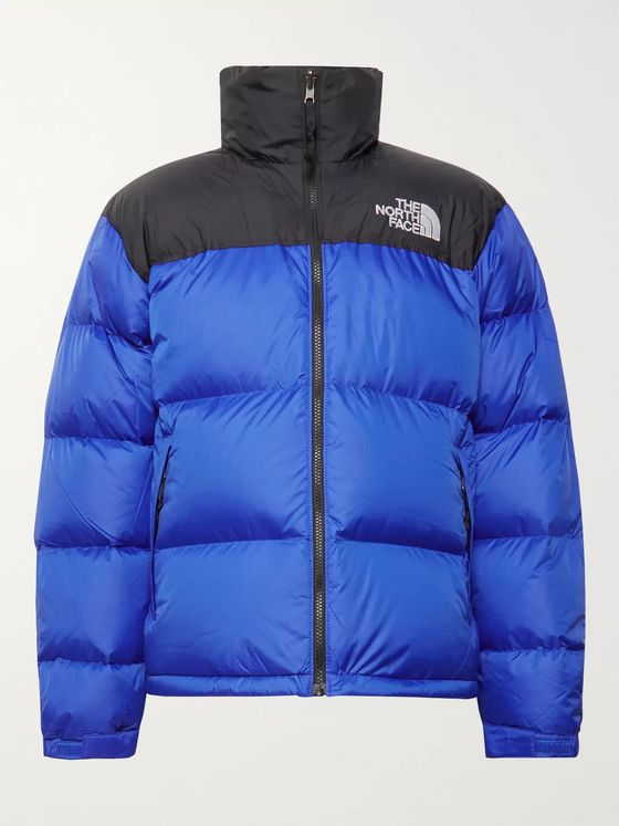 The North Face 1996 Nuptse Colour-Block Quilted Nylon-Ripstop Down Jacket
