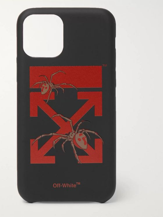 Off-White Logo-Print iPhone 11 Case
