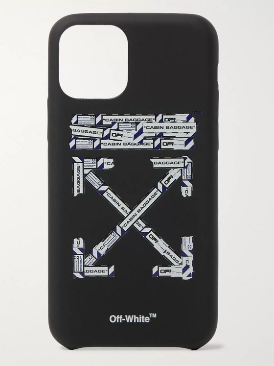 Off-White Logo-Print PVC iPhone 11 Case