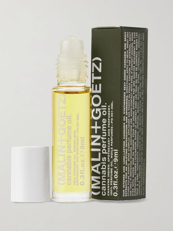 MALIN + GOETZ Cannabis Perfume Oil Roll-On - Bergamot and Black Pepper, 9ml