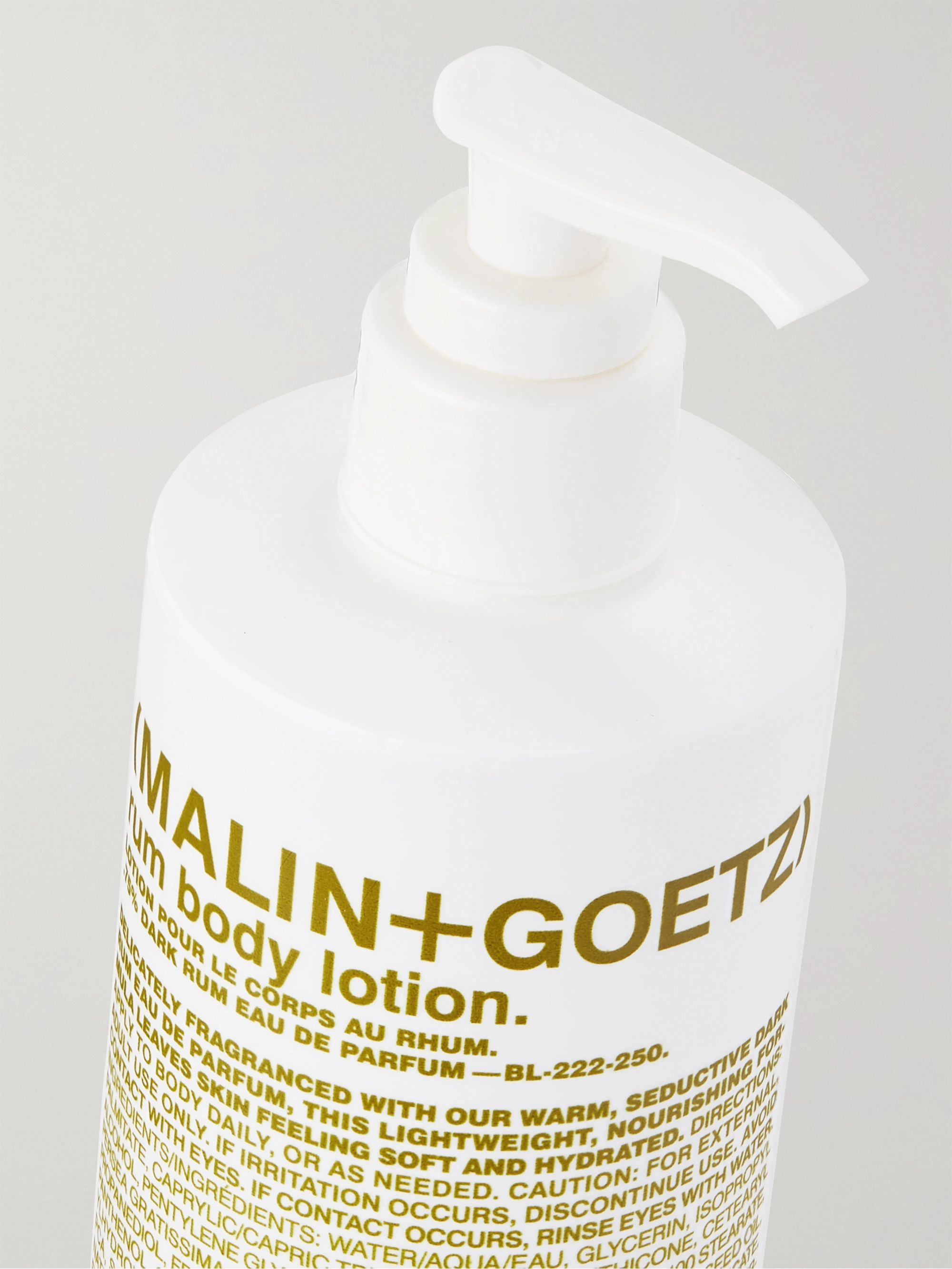 Malin + Goetz Rum Body Lotion, 250ml