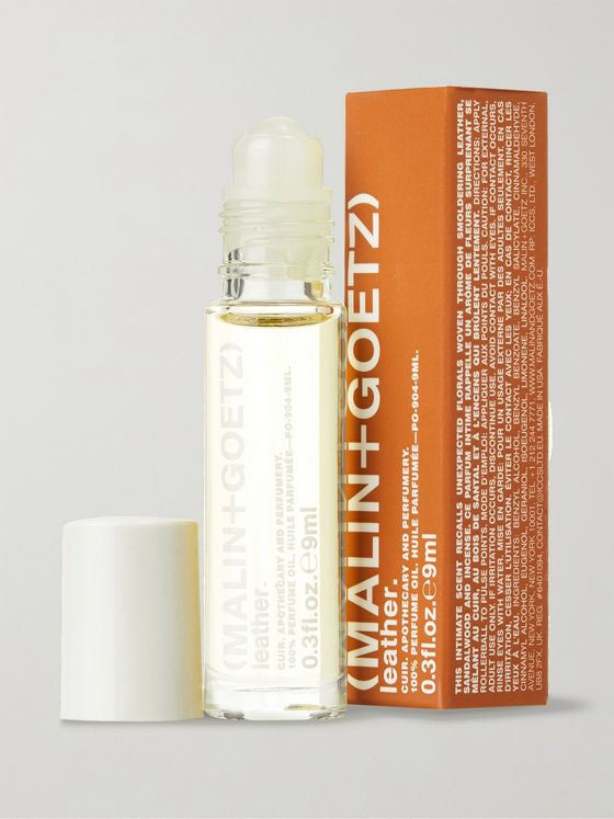 Malin + Goetz Leather Roll-On Perfume Oil, 9ml