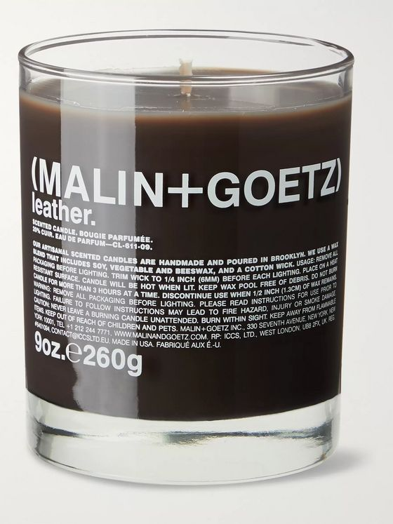 Malin + Goetz Leather Scented Candle, 260g