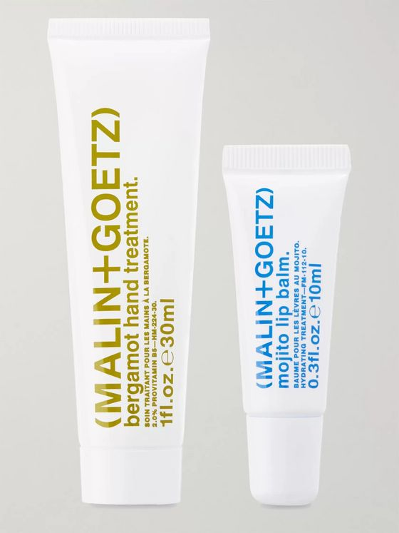 Malin + Goetz Hand + Lip Treats Gift Set