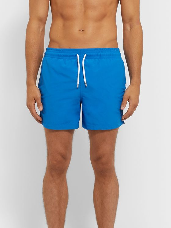 Derek Rose Aruba 2 Slim-Fit Mid-Length Swim Shorts