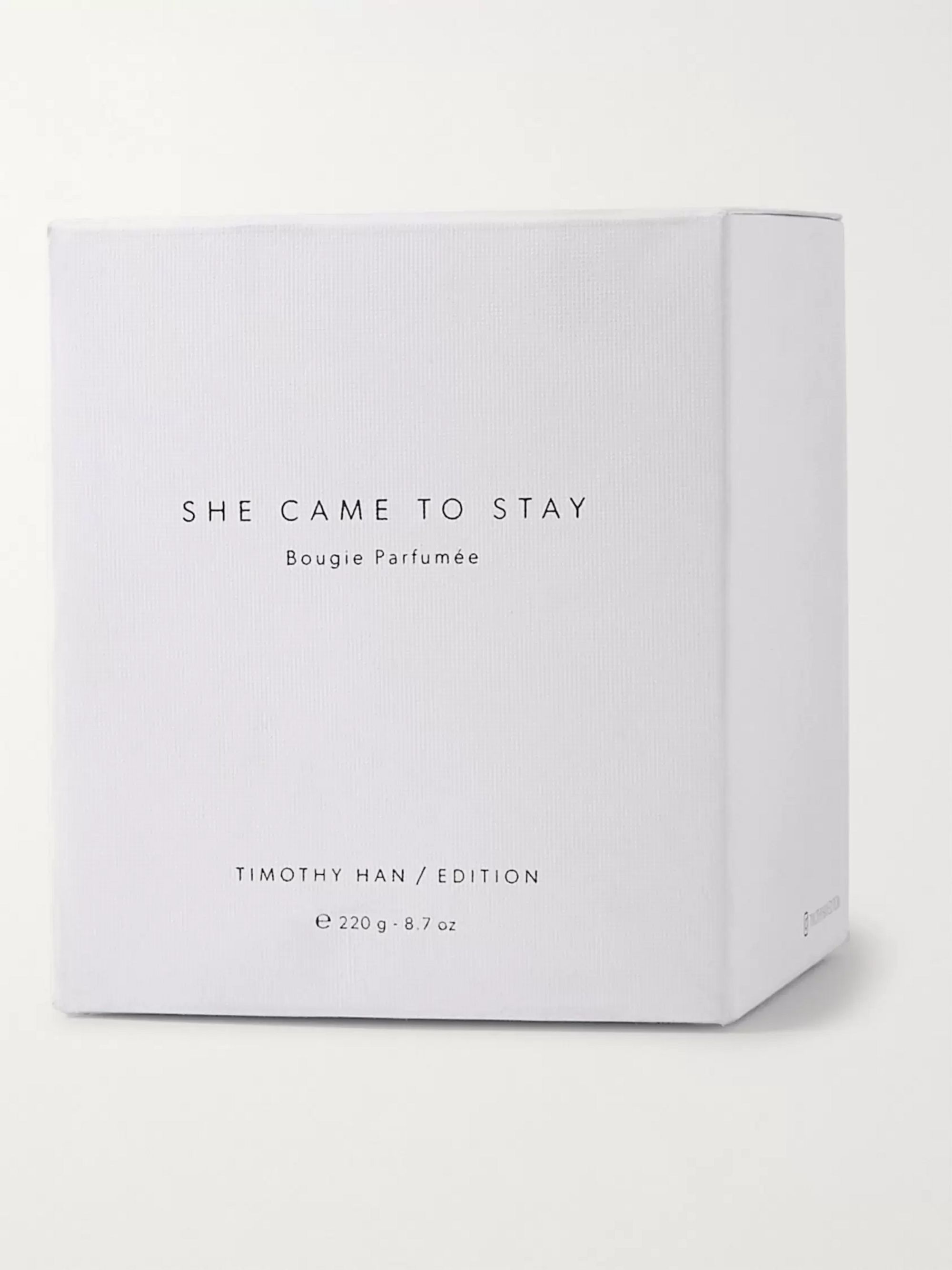 TIMOTHY HAN / EDITION She Came to Stay Scented Candle, 220g