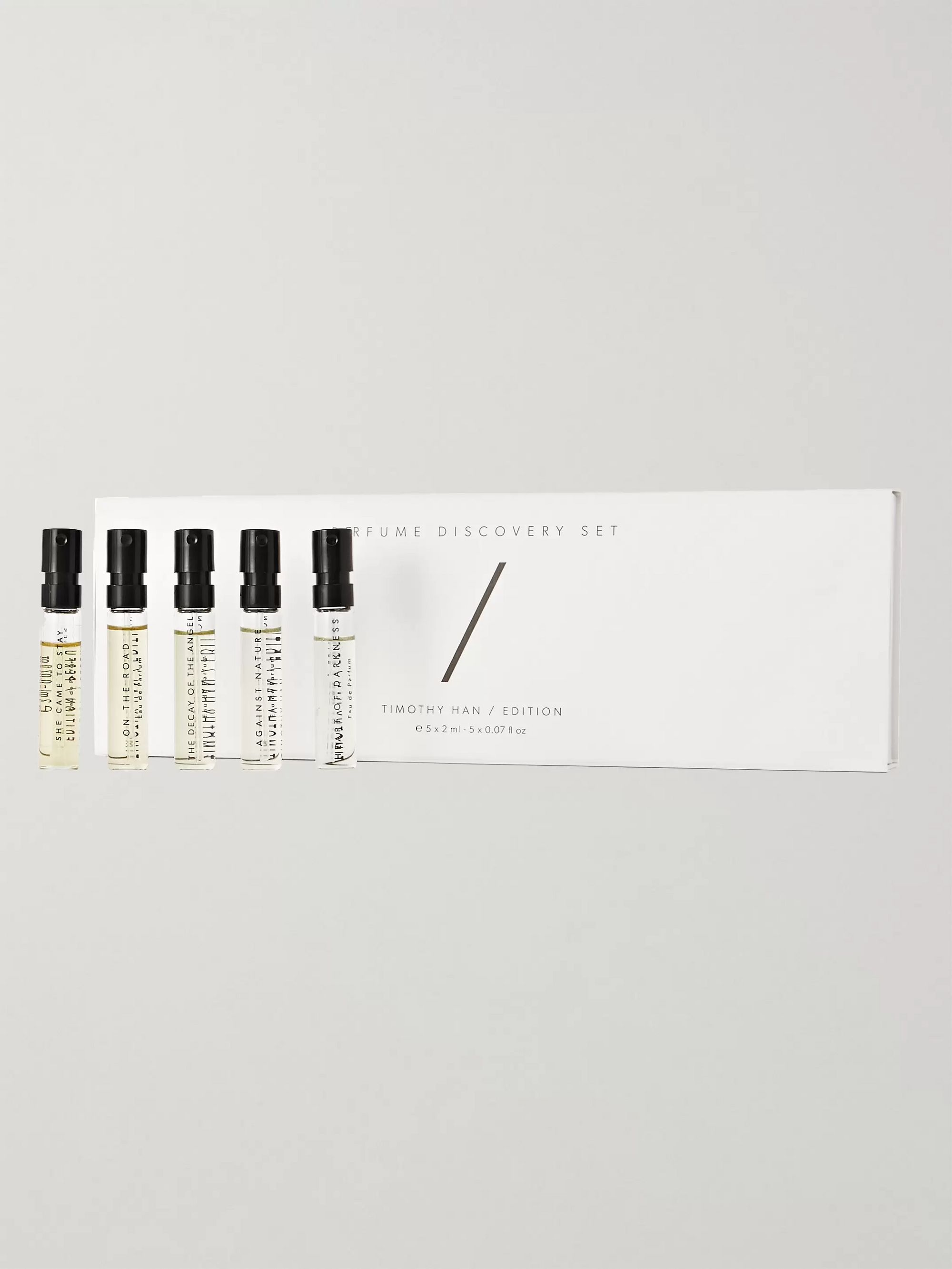 TIMOTHY HAN / EDITION Perfume Discovery Set, 5 x 2ml