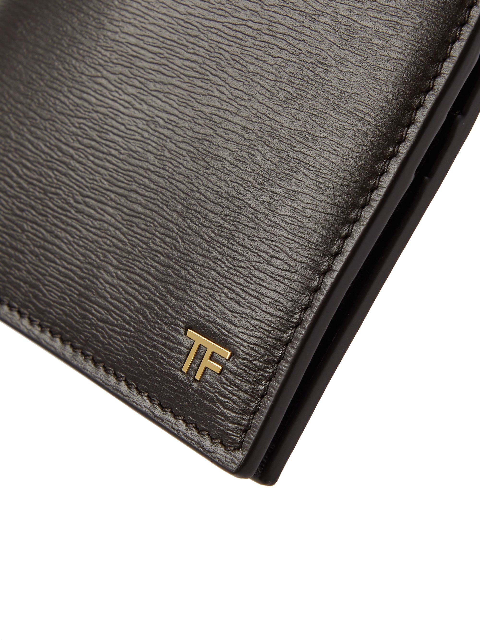 TOM FORD Textured-Leather Billfold Wallet