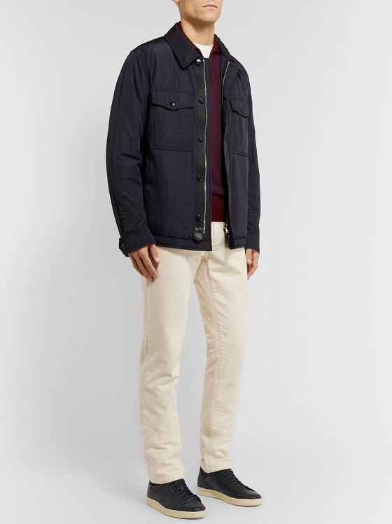 LORO PIANA Slim-Fit Rain System Denim Jeans