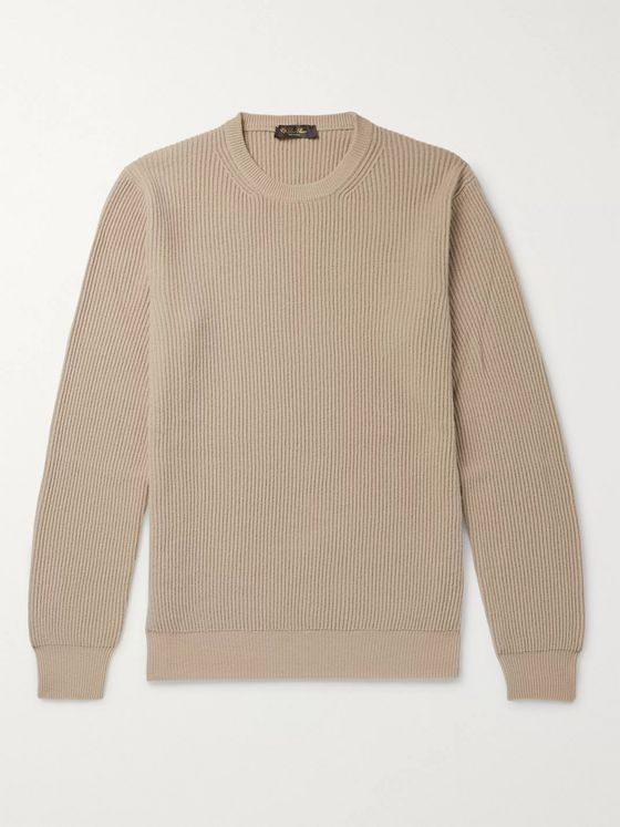 LORO PIANA Ribbed Cashmere Sweater