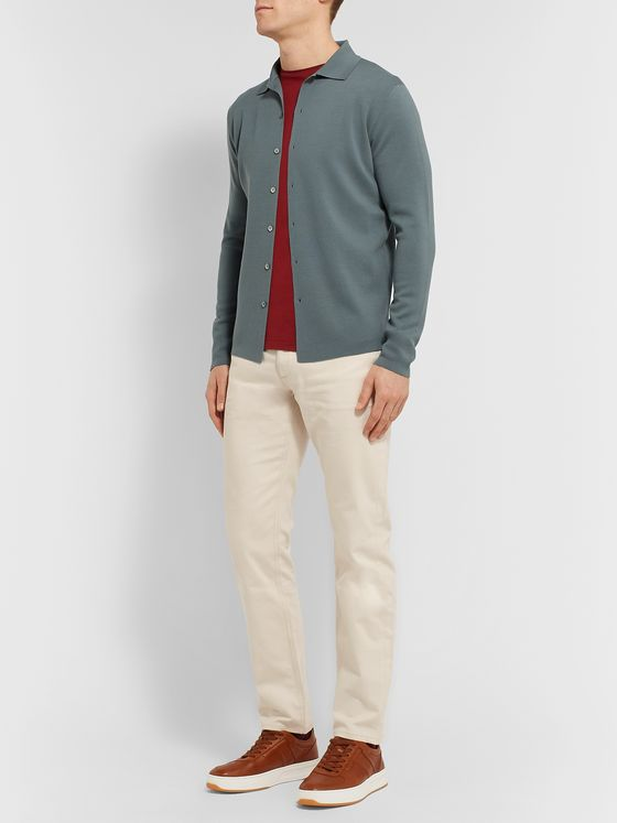 Loro Piana Slim-Fit Virgin Wool Shirt
