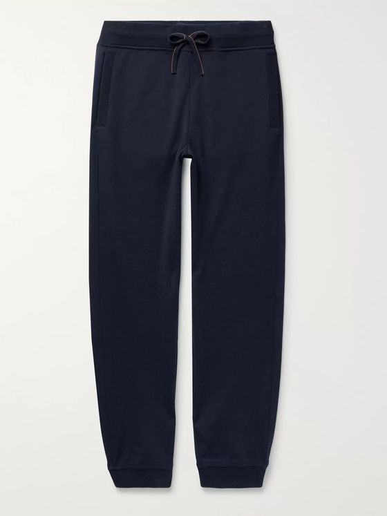 LORO PIANA Wish Virgin Wool-Blend Jersey Sweatpants