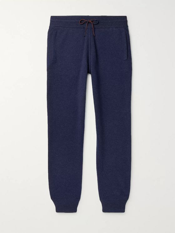Loro Piana Slim-Fit Tapered Cashmere Sweatpants