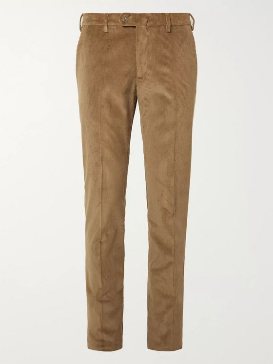 LORO PIANA Cotton-Corduroy Trousers
