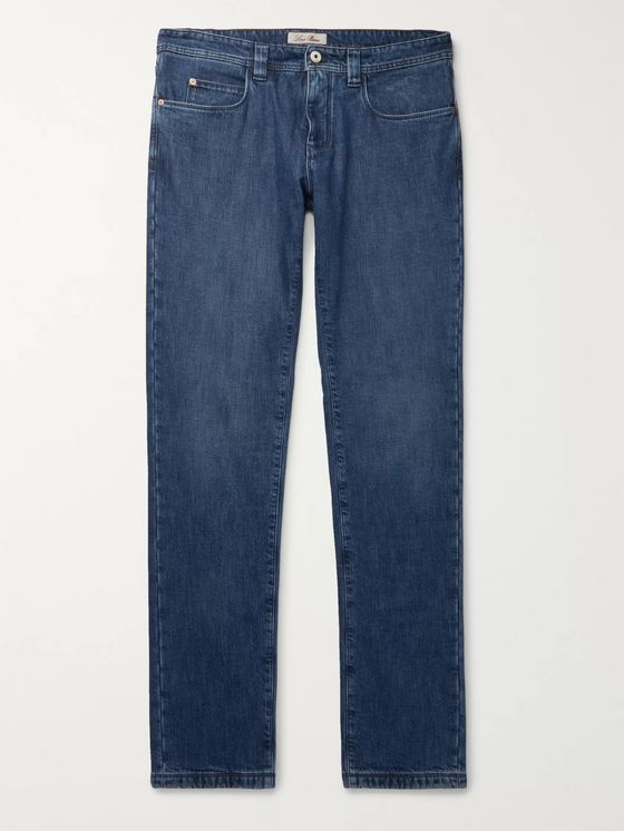 LORO PIANA Slim-Fit Denim Jeans