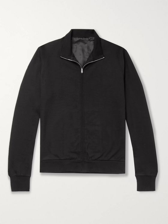 The Row Howard Cotton and Cashmere-Blend Zip-Up Jacket