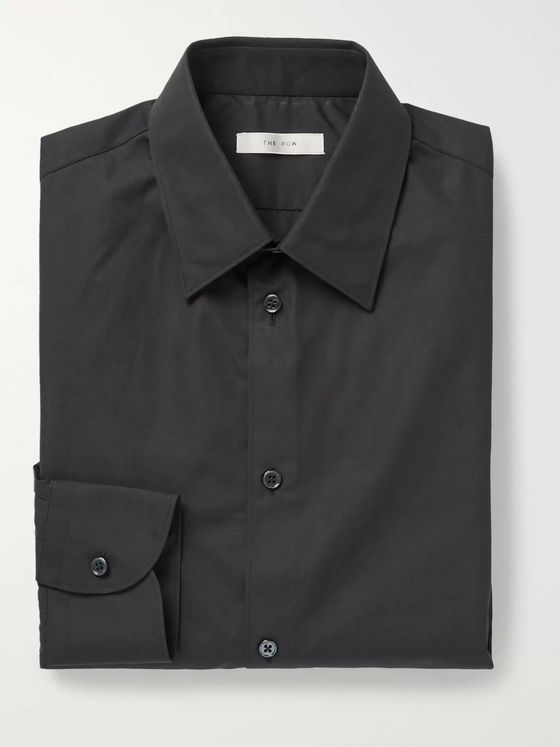 THE ROW Jasper Cotton-Poplin Shirt