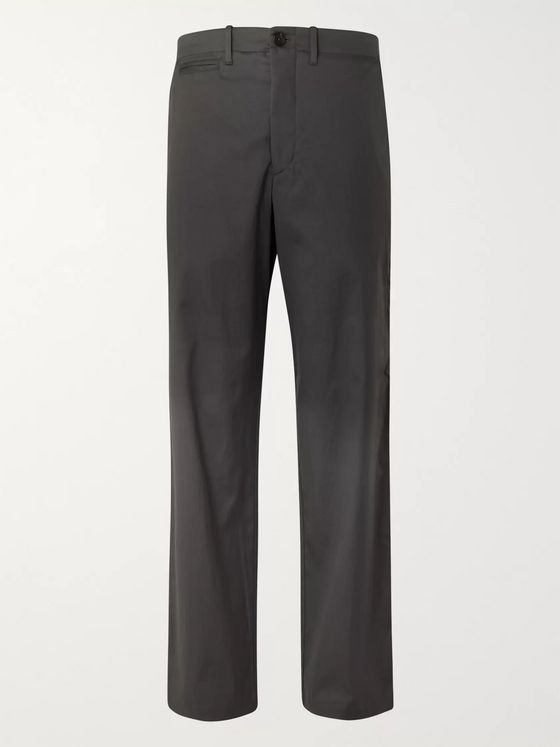 The Row Chad Cotton-Twill Trousers