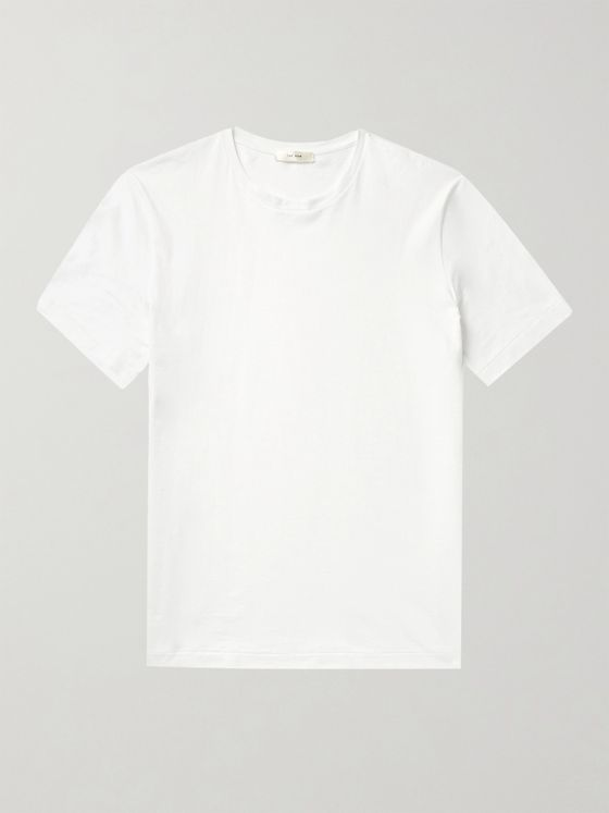 THE ROW Luke Cotton-Jersey T-Shirt