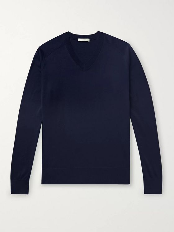 The Row Igor Silk and Cotton-Blend Sweater
