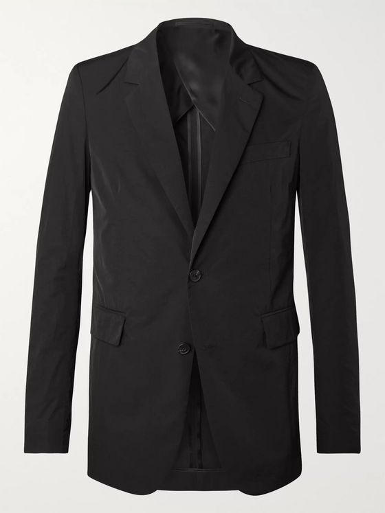 The Row Slater Slim-Fit Unstructured Nylon Suit Jacket