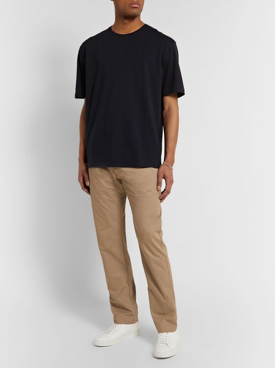 The Row Josiah Cotton and Cashmere-Blend T-Shirt