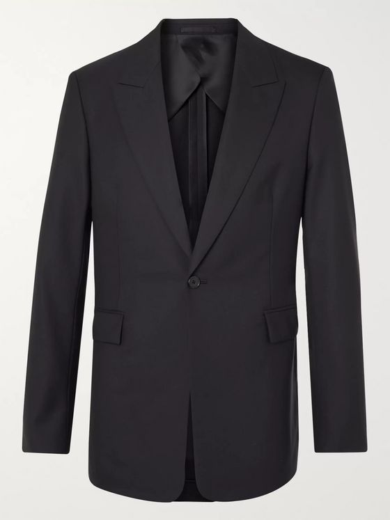 The Row Mason Slim-Fit Wool Suit Jacket