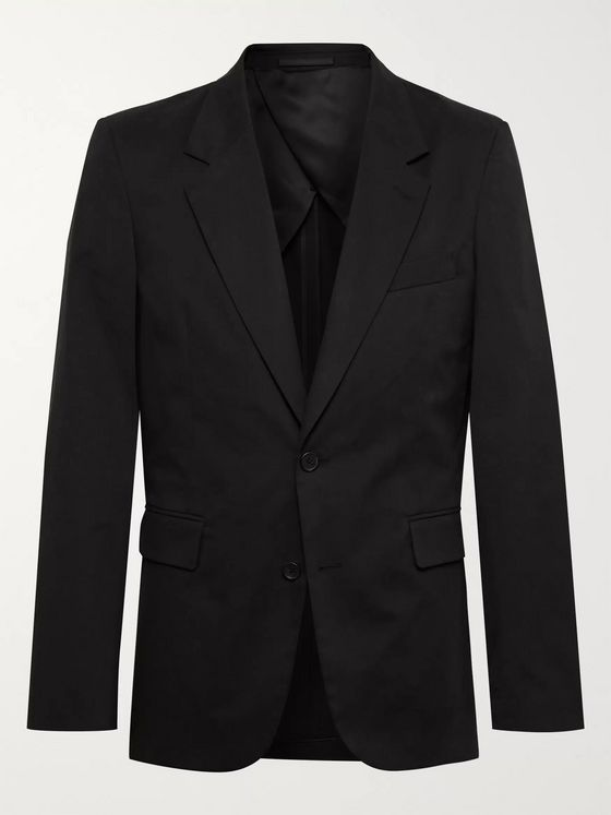 THE ROW Slater Slim-Fit Cotton-Blend Twill Blazer