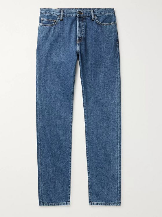 THE ROW Irwin Slim-Fit Stretch-Denim Jeans