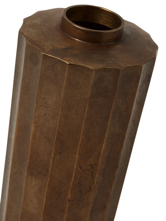 Roman & Williams Guild + Nousaku Burnished-Brass Vase